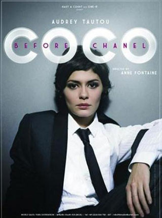 coco chanel, audrey tautou