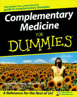 jacqueline young, complementary medicine for dummies
