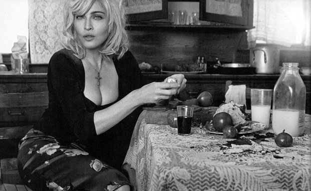 madonna, vanity fair italy, dolce and gabbana