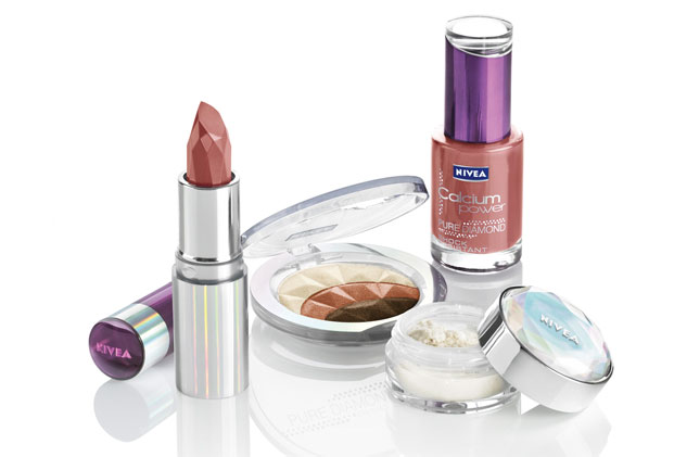 nivea diamond make up linija