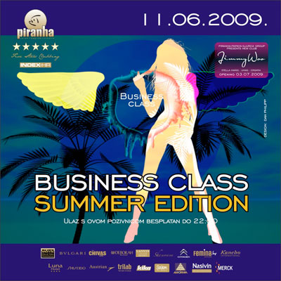 piranha summer edition business class