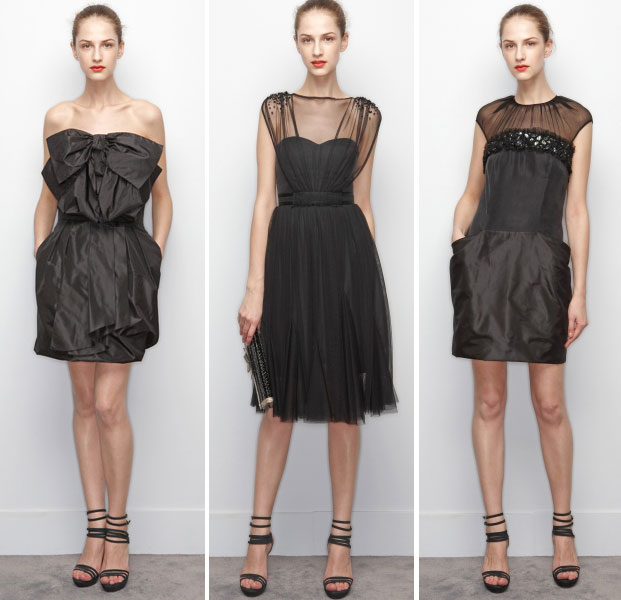 victor and rolf, black dress capsule collection