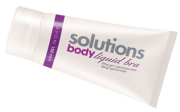 avon solutions liquid bra gel