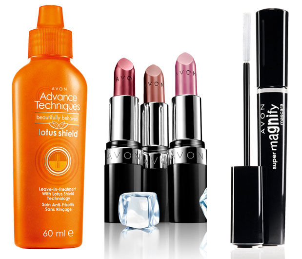 avon lotus shield tretman za kosu, hidrokolor cool bliss ruz, supermagnify maskara