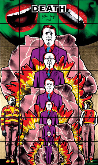 gilbert and george, death