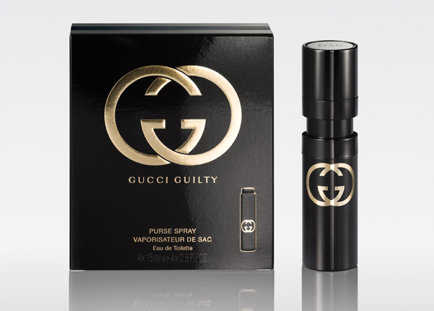 gucci guilty, purse spray