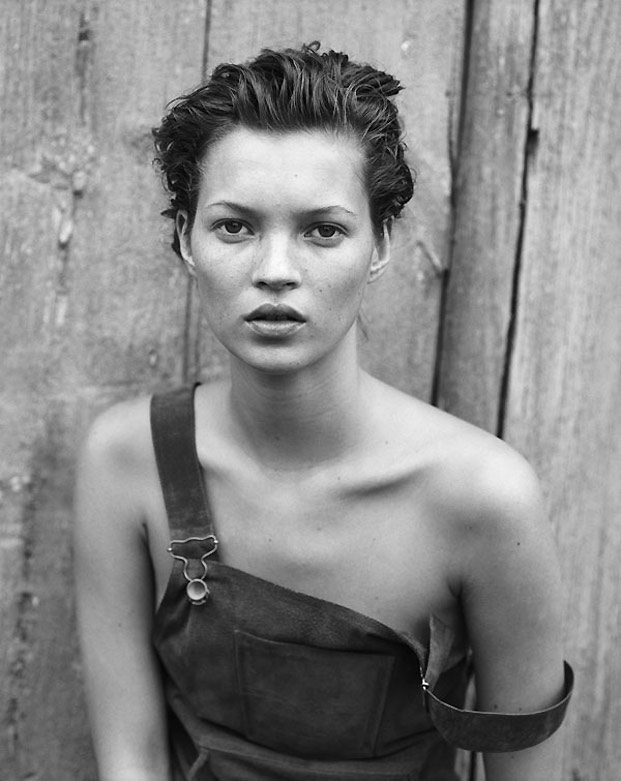 kate moss, copyright peter lindbergh