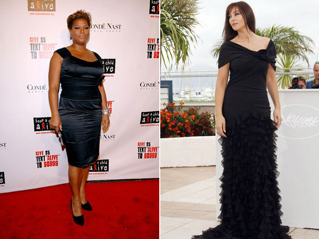 queen latifah i monica bellucci