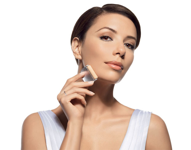 eva longoria, l'oreal true match roll'on puder