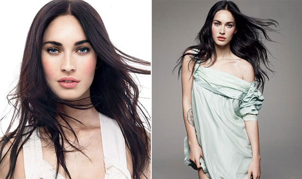 megan fox za allure
