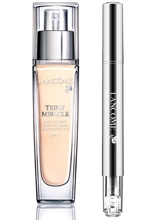 lancome teint miracle, aura inside technology