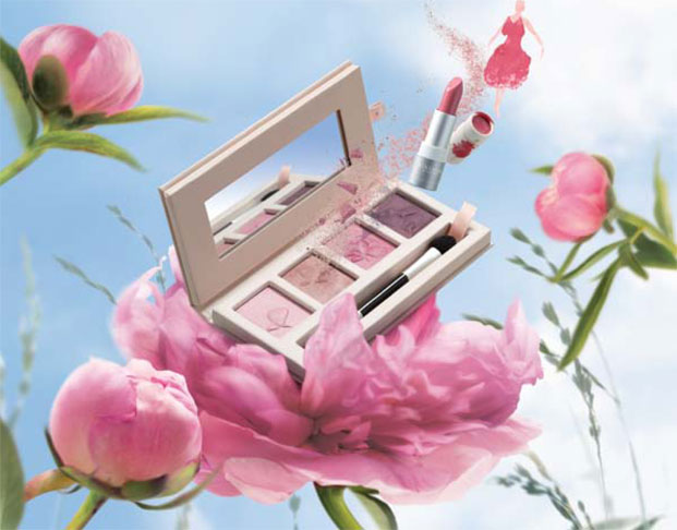 pivoine make-up kolekcija, l'occitane