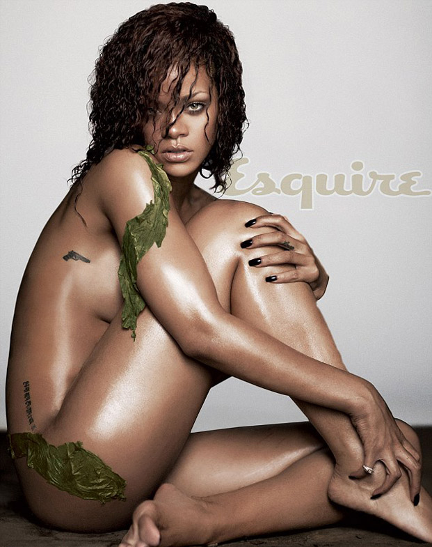 rihanna, esquire, foto by russell james