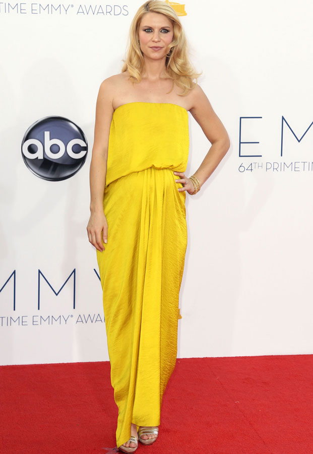 claire danes, emmy 2012