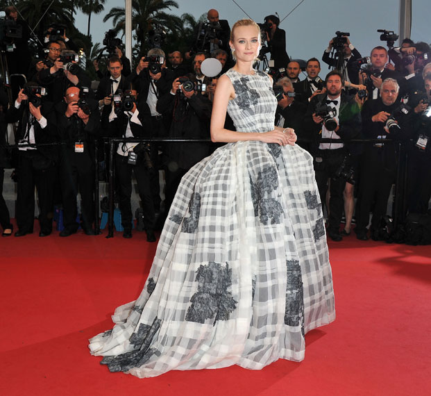 diane kruger, christian dior couture, cannes 2012