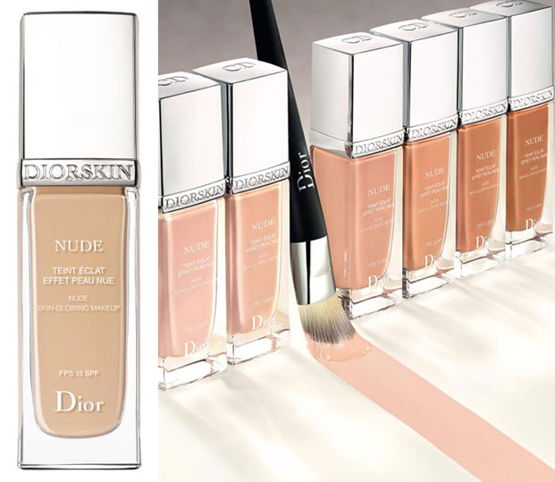 diorskin nude glowing makeup