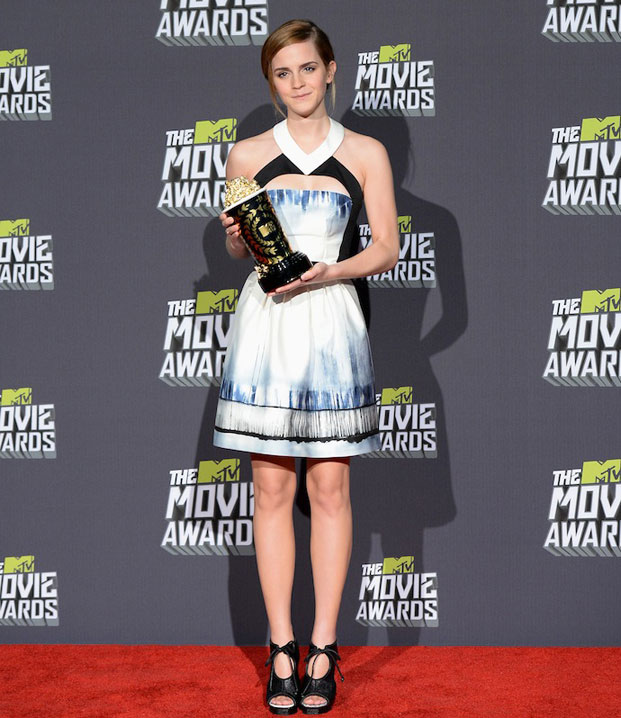 emma watson, mtv movie awards 2013