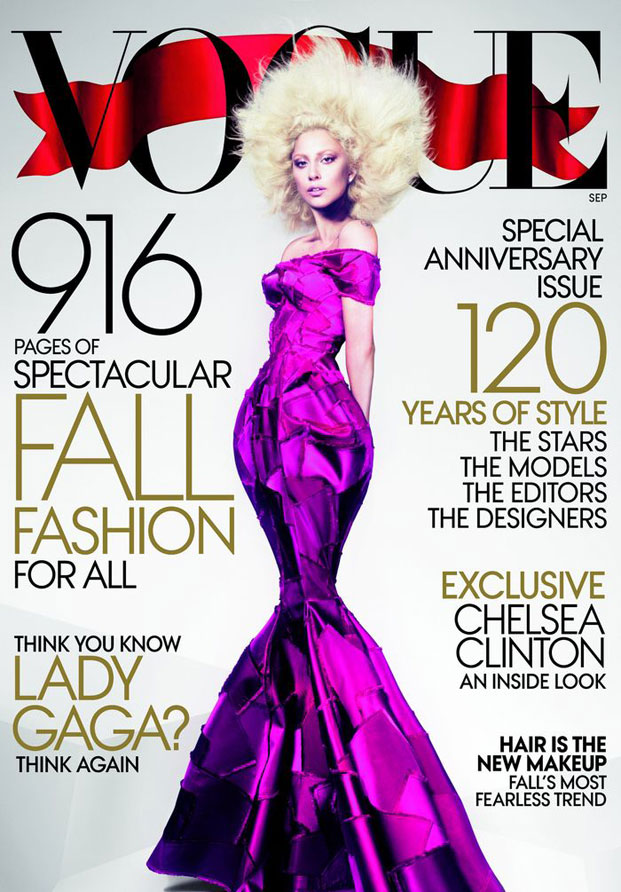lady gaga, vogue, rujan 2012
