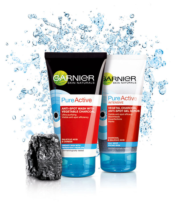 garnier pure active carbon