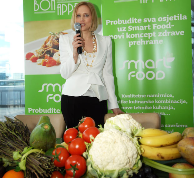 marina vojković, smart food
