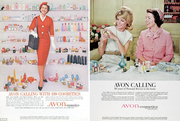 avon ladies retro