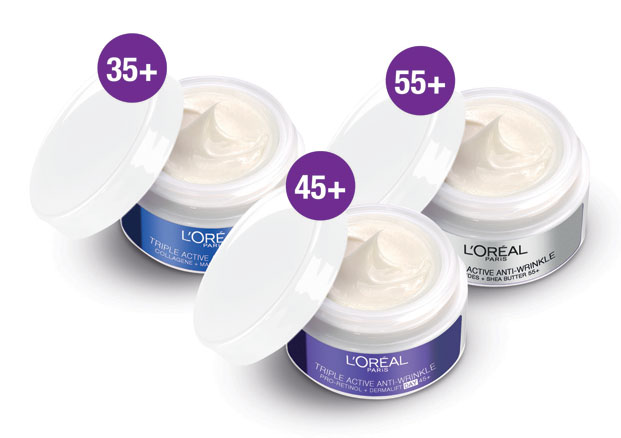 l'oreal triple active