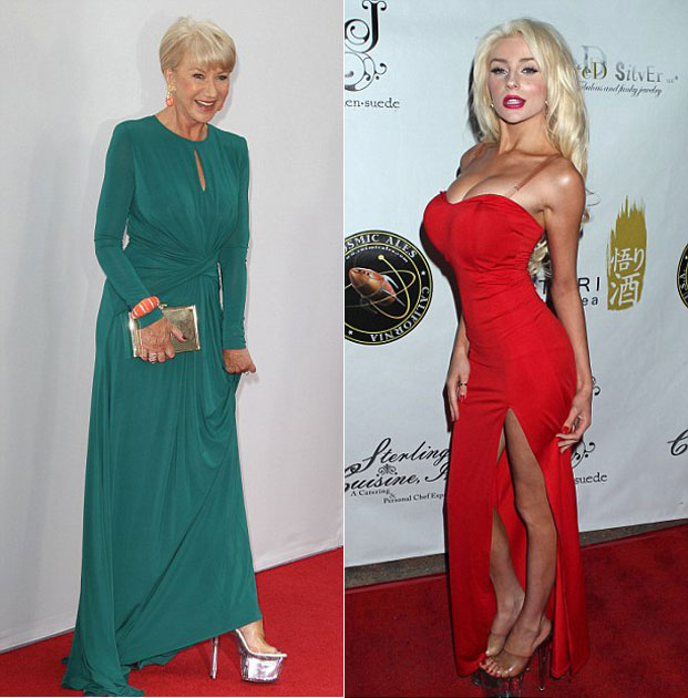 helen mirren, red 2, Courtney Stodden