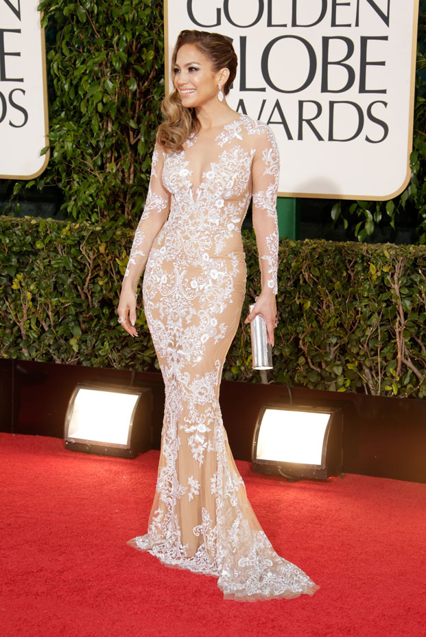jennifer lopez, golden globes 2013