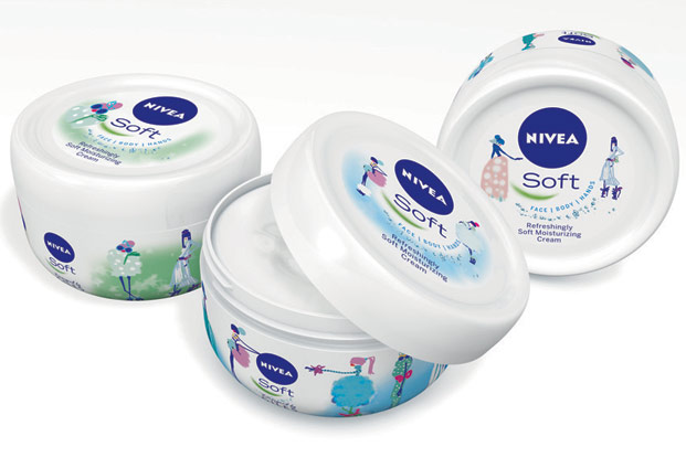 nivea soft by giles deacon