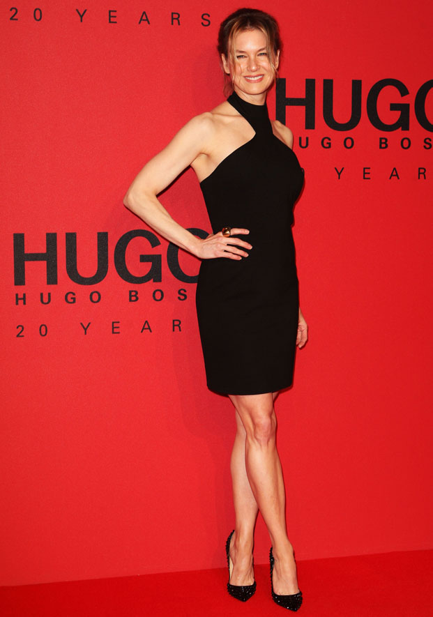 renee zellweger, hugo by hugo boss