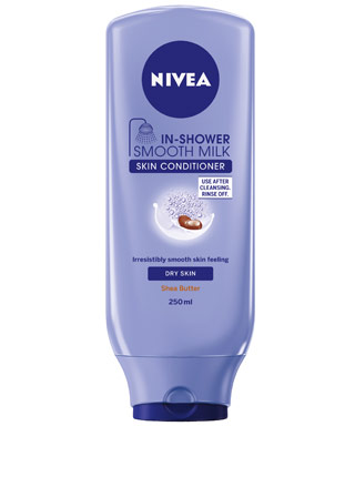 nivea in shower smooth milk