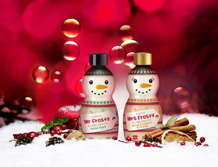 avon mrs i mr frosty pjene za kupanje
