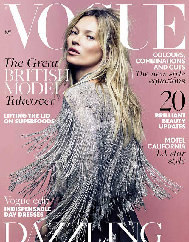 kate moss, vogue brit proljeće 2014