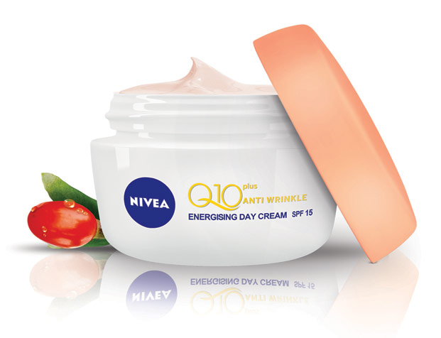 nivea q 10 plus energy
