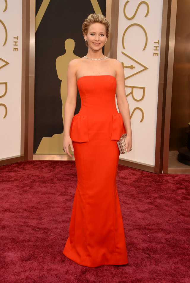 oscar 2014, jennifer lawrence