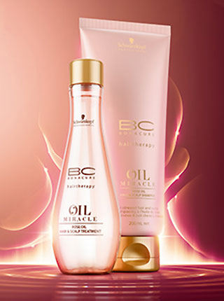 schwarzkopf professional bc rose oil