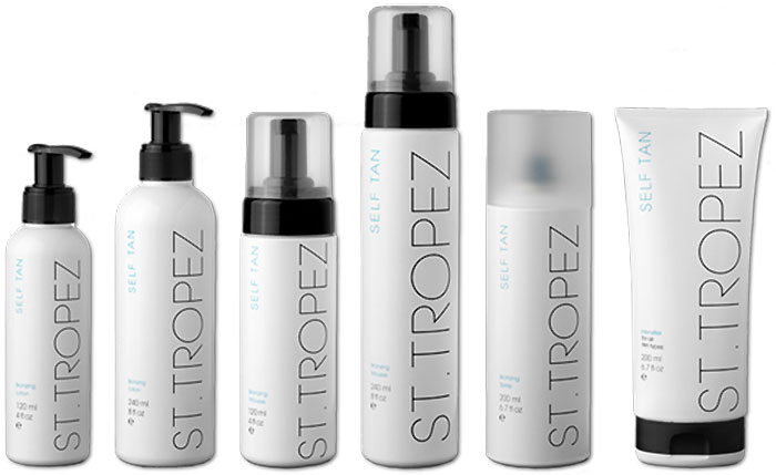 st tropez self tan