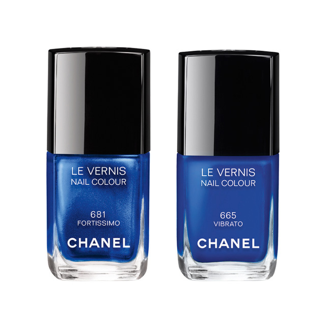 chanel blue rhythm