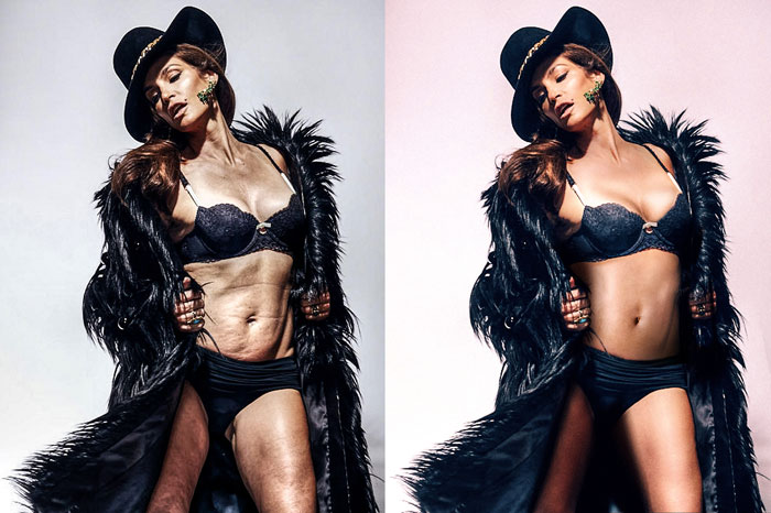 cindy crawford photoshop leak
