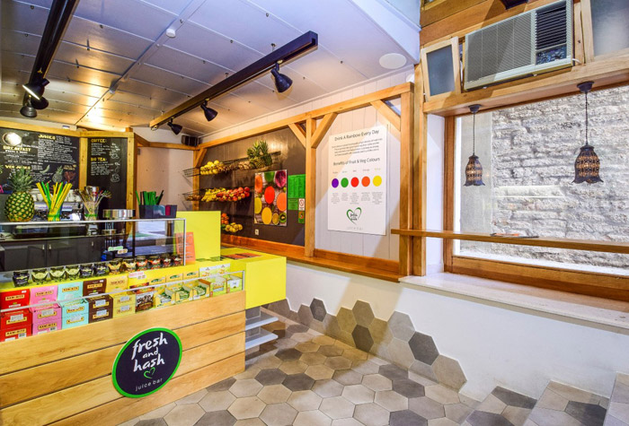 juice bar fresh and hash, sibenik