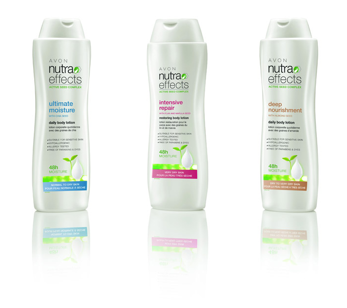 avon nutraeffects body