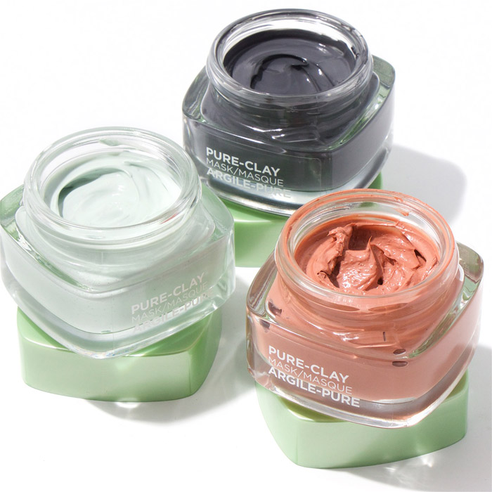 loreal paris pure clay maske