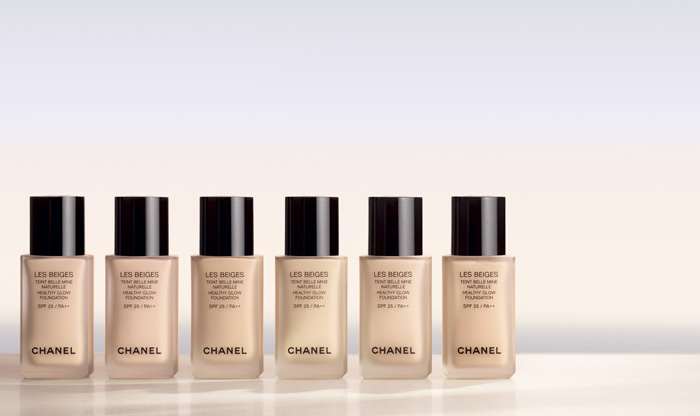 chanel lese beiges healthy glow foundation