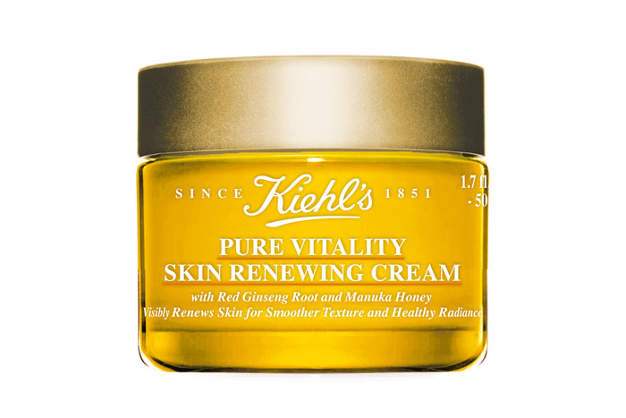 kiehl's pure vitality renewing cream