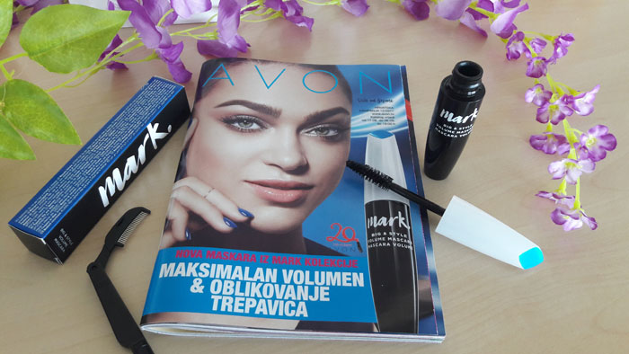 avon mark big and style volume maskara