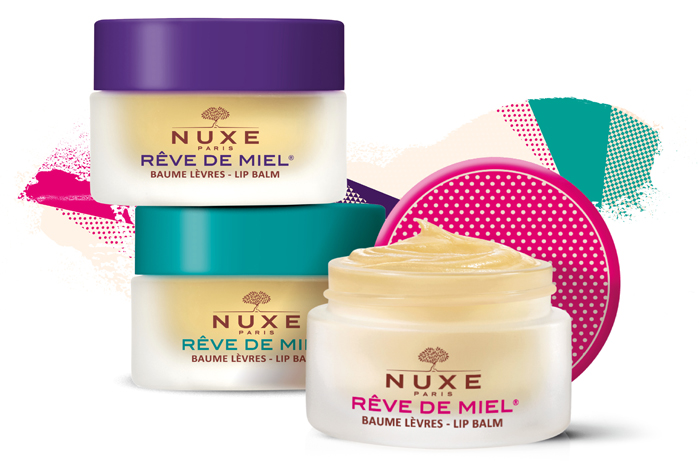 nuxe reve de miel pop art