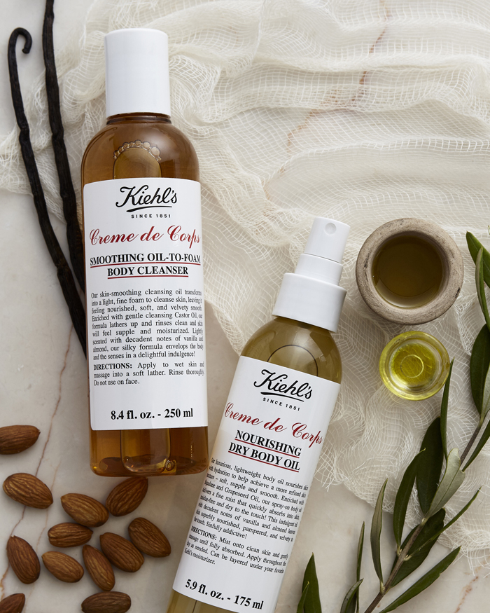 kiehls creme de corps body oil