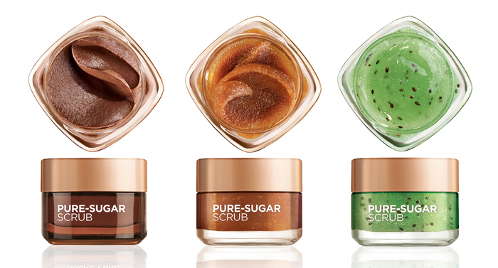 loreal smooth sugar scrub