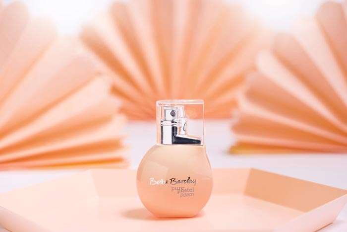 betty barclay pure pastel peach and rose
