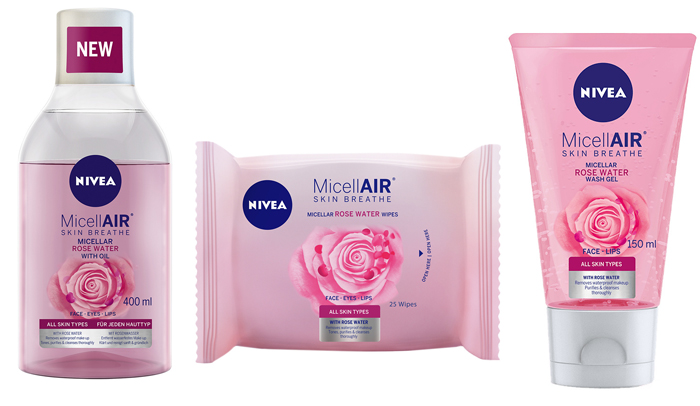 nivea micellair rose water